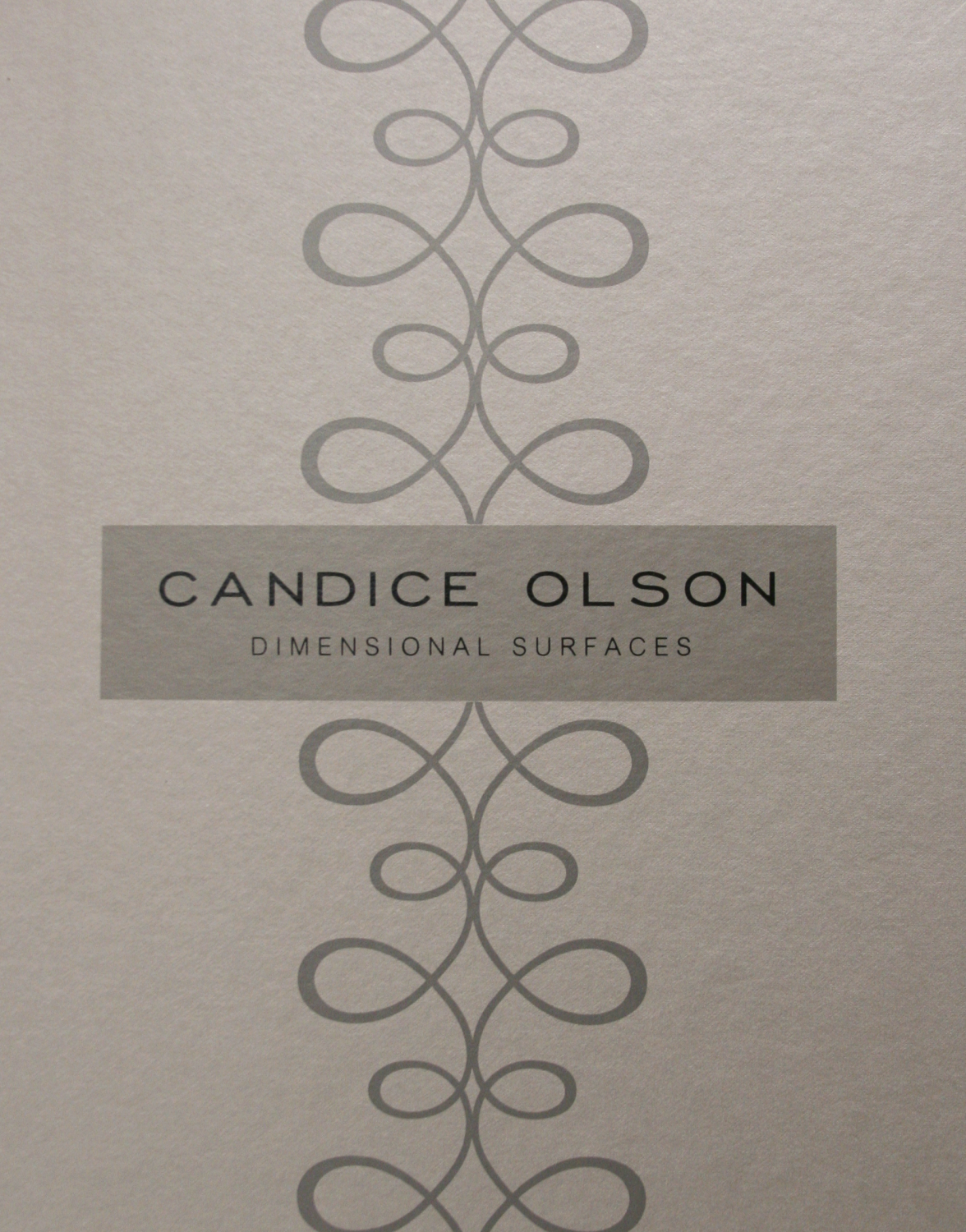 Dimensional Surfaces by Candice Olson