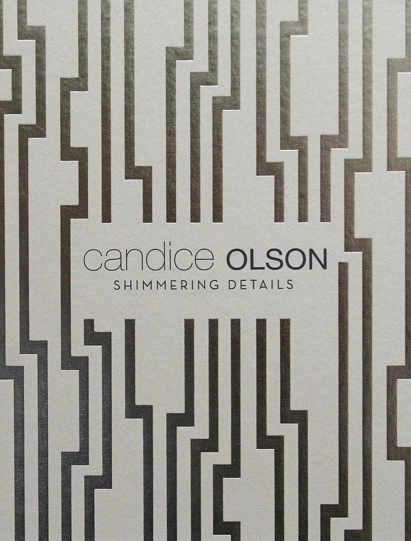 Candice Olson Shimmering Details Wallpaper