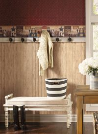 Country Keepsakes Wallpaper by York