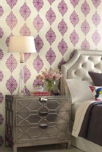 Designer Damasks Wallpaper Selection by Ronald Redding Designs