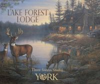 Lake Forest Lodge Wallpaper Collection