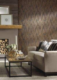 Ronald Redding Wallpaper Urban Retreat Chaparel Pattern