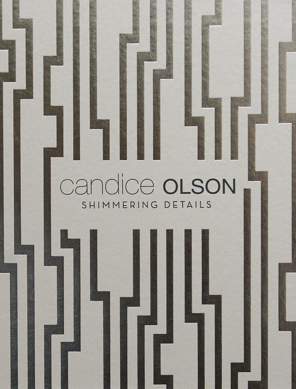 Candice Olson Shimmering Details Wallpaper Book