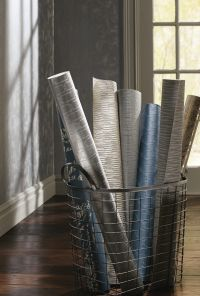 Silver Leaf II Wallpaper Selection by Ronald Redding Designs