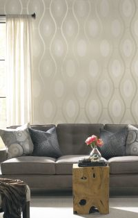 Silver Leaf II Wallpaper Selection by Ronald Redding