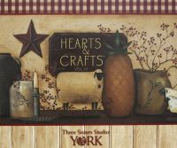 Hearts & Crafts III Wallcoverings